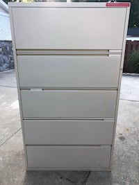 5-Drawer Steelcase Lateral File Cabinets Oxon Hill, 20745
