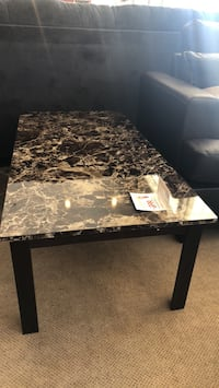 Black and brown marble top table Phoenix, 85018