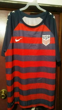 USA Soccer tee  Oklahoma City, 73102