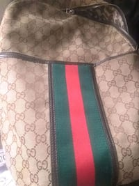 brown and green Gucci monogram tote bag New Orleans, 70122