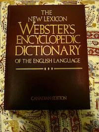 Webster's Encyclopedic Dictionary- English Toronto, M4T 2T5