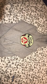 Grey obey pullover hoodie Vancouver, V5R 5J7