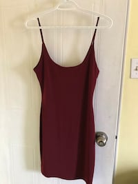 Burgundy Red Mini Dress Oakville, L6J 7E8