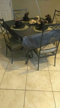 Dinning table set and stand