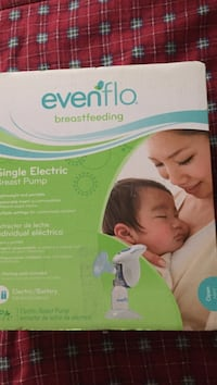 Evenflo single electric breast pump box