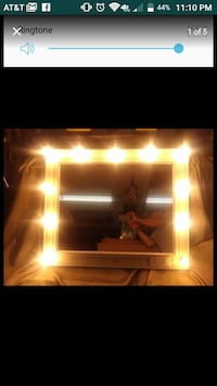 Mirror w lights on and off switch mpu