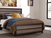 Brand New☆ Ashley Harlinton Gray/Charcoal Queen Bed Ellicott City, 21043