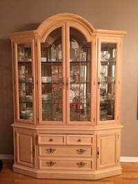 Real Wood China Cabinet  Toronto, M9N 1A5