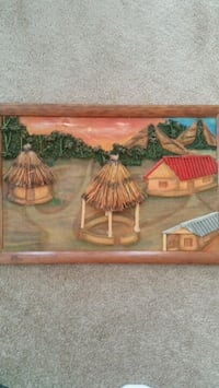 Togo African painting Germantown, 20874