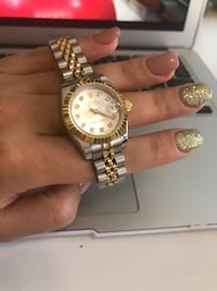 Brand new stainless steel gold plated two tone automatic watch 26mm ladies Laguna Hills, 92653