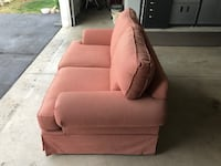 brown fabric sofa chair with throw pillow Dexter, 48130