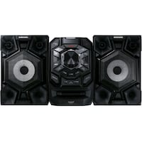 Samsung sound system with giga bass,usb and blueto