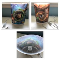 Buzz and Woody kids lamp  Mississauga, L5J 1R2