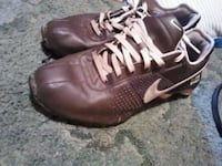 pair of brown Nike basketball shoes McMinnville, 37110