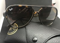 Original Ray Ban Aviators Cats 5000, Havana Gradient awesome sunglasses... Vancouver, V5N 2C7