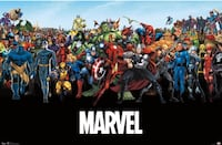 Marvel The Lineup poster Los Angeles, 90006