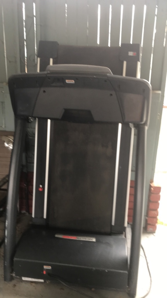 black and gray treadmill control panel, used for sale  Selma