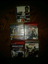 5 Playstation 3 games
