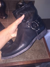 Women's Frye Black  boots size 8.5 Youngsville, 70592