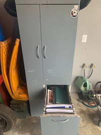 Garage cabinet/ locker/ file cabinet.  Heavy Columbiana, 44408
