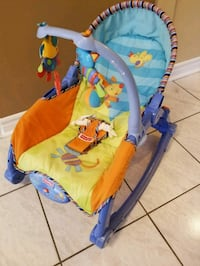 Fisher price vibrating seat  Brampton, L6R 1L5