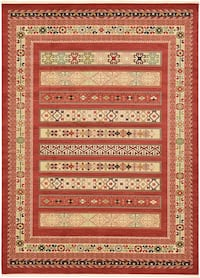 Brand new area rug size 8x10 nice red carpet Persian style rugs multi design Springfield, 22150
