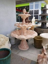 Large 3 Tier Concrete Fountain  Pompano Beach, 33073