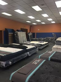 Columbus Day sale going on now. New queen size mattress sets Concord, 28025