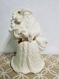 White and Gold Santa Figure Warwick, 02888