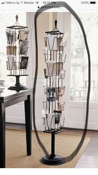 Photo carousel-Pottery Barn (tall) black Sterling, 20166