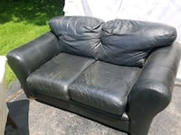 Leather Love Seat Blakely, 18452