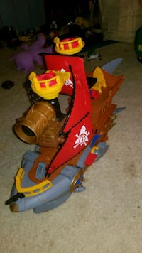Imaginext Pirate shipe 27 mi