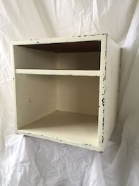 Shabby Chic Wood shelf/storage unit Alexandria, 22206