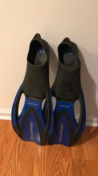 pair of black-and-blue flippers Arlington, 22206