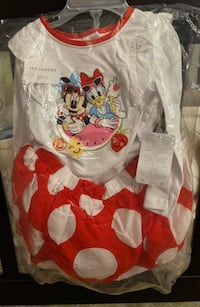 2 Piece Minnie/Daisy Outfit (Sz 18-24 months) Milpitas, 95035