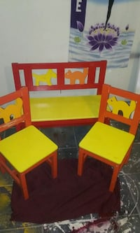 IKEA Children's Wood Bench & Two Chairs  Washington, 20015