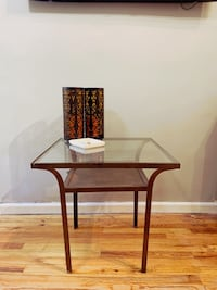 Table and side table set