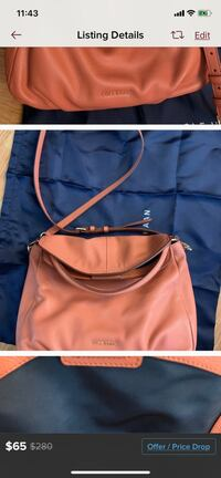 Authentic cole Haan shoulder or crossbody bag