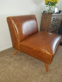 Leather Chair  Costa Mesa