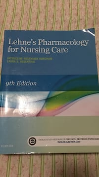 Lehne's Pharmacology for Nursing Care textbook