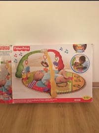 Fisher Price musikalsk aktivitet gym boks