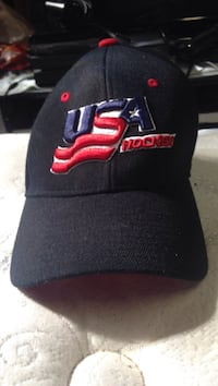 black and red Chicago Bulls fitted cap Dearborn, 48124