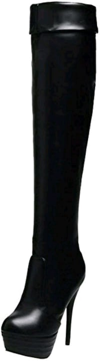 Over-The-Knee platform boots with Stiletto heels Hamilton, L0R 1C0