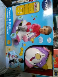 Brand new vtech prance and rock learning unicorn horse toy, vtech Toronto, M4C 4X6