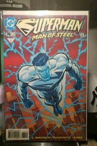 DC COMICS BOOK - SUPERMAN THE MAN OF STEEL  Brooklyn, 11221
