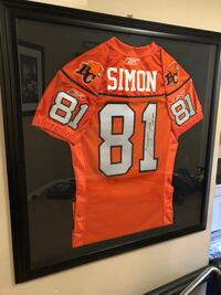 Geroy Simon signed jersey Surrey, V3X 3H3
