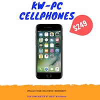 iphone 6 16gb unlocked $249 Kitchener
