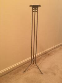 Vintage metal candle stand