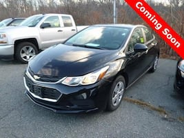 2017 Chevy Chevrolet Cruze LS sedan Mosaic Black Metallic