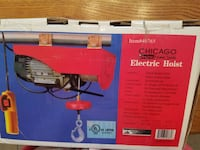 Electric Hoist from Chicago Tools, Brand new